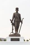 Thai king Mongkut (Rama lV) monument at Ratchapakdi Park. Stock Images