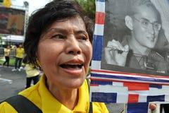 Thai King's 85th Birthday Royalty Free Stock Photos
