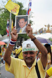 Thai King's 85th Birthday Stock Photography