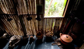 Thai kitchen. The kitchen of thai people that live in rural areas Stock Photography