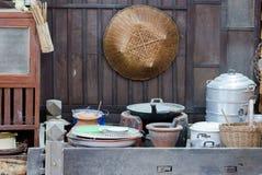 Thai kitchen. With retro style Stock Photography