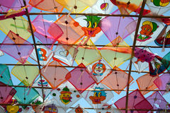 Thai kite texture. Stock Image