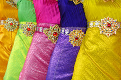 thai klänning Arkivbilder