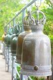 thai klockatempel arkivfoton