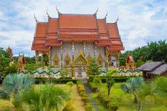 thai kloster Arkivbild