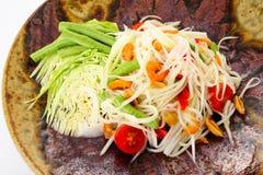 thai kokkonst Arkivbild