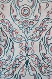 thai konst Arkivbild
