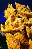 thai konst Arkivfoton