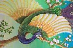 thai konstbakgrund Arkivfoton