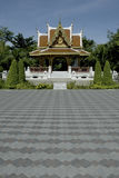 thai konstbyggnad Arkivbilder