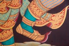 thai konstmålningar Arkivbild