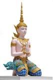 thai krigare för vinkel Royaltyfria Bilder