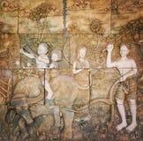 thai kultur royaltyfri bild