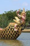 thai kunglig person för pråmgruppkrut Fotografering för Bildbyråer