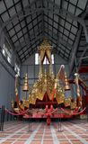 thai kunglig triumfvagn Arkivbilder
