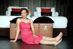 thai kvinna Arkivfoton