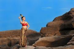 thai kvinnor Arkivbilder