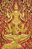 thai kyrklig dörr Fotografering för Bildbyråer