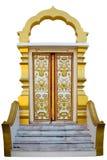 thai kyrklig dörr Arkivbild