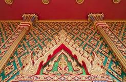 thai kyrklig port Arkivbild