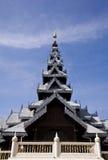 thai kyrkligt tempel Arkivbild