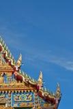 thai kyrkligt tempel Royaltyfri Bild