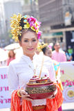 thai lady Royaltyfria Foton