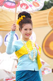 Thai lady Royalty Free Stock Photography
