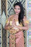 Thai lady Stock Photography