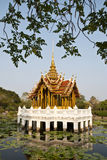 thai laketempel Arkivbilder