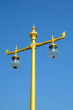 Thai lamp pole Stock Images