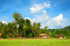 Thai Landscape Royalty Free Stock Photo