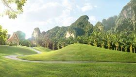 Thai landscape Royalty Free Stock Image