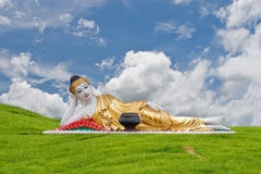 Thai Lanna Buddha Statue. Stock Image
