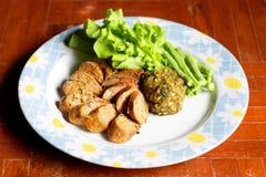 Thai Lanna cuisine. Royalty Free Stock Images