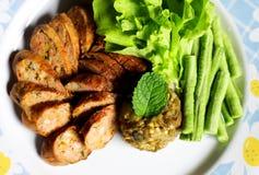 Thai Lanna cuisine. Royalty Free Stock Image