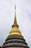 Thai Lanna style ancient pagoda Stock Photo