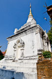 Thai Lanna style pagoda with blue sky Royalty Free Stock Photography
