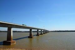 Thai-Lao friendship bridge Stock Photography