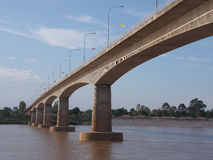 Thai-Lao Friendship Bridge Stock Photos