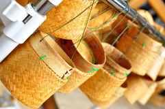 Free Thai Laos Bamboo Sticky Rice Container Stock Images - 50924894