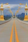 Thai-Laotisk kamratskapbro Arkivbilder