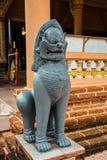 Thai lejon Royaltyfri Fotografi