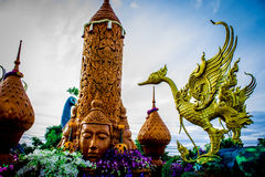 Thai Lent Festival Stock Photos