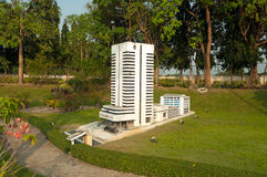 Thai life insurance in Mini Siam Park Stock Images