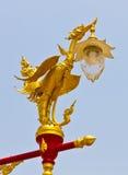 Thai light pillar Stock Images