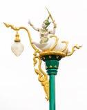 Thai light poles Stock Photography