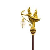 Thai lighting pole Royalty Free Stock Images