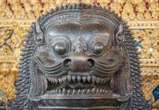 Thai Lion Statue Royalty Free Stock Photo