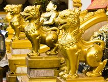 Thai lions statue Stock Image